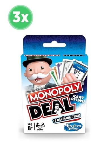 Hasbro Monopoly Deal X 3 Adet Renkli